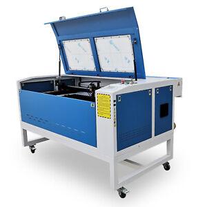 80W 1000x600mm Co2 Laser Engraving Engraver Cutting Cutter Machine