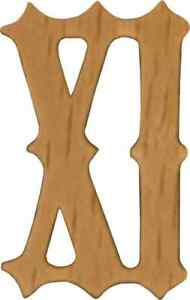 NEW Set of Wooden Cuckoo Clock Numbers for Dials - Choose from 8 Sizes!