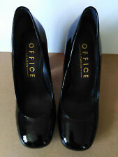 Office London shoes black patent EUR37