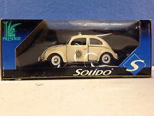 The Police Car WHITE POLIZIA VW Beetle Bug 1:18 Diecast Police Officer