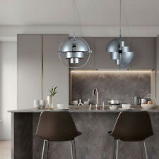 Bar Lamp Chrome Pendant Light Kitchen Chandelier Lighting Modern Ceiling Lights