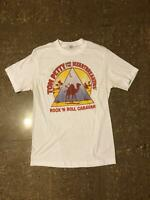 Vintage Tom Petty And The Heartbreakers Rock N Rol T-shirt Black S-234XL F1256