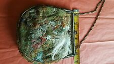 Antique Micro Bead Needle Pointe French 1900 Bag