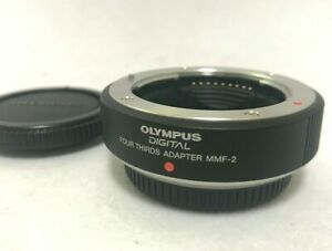 [TOP MINT] Olympus MMF-2 Four Thirds Adapter Micro 4/3 Body MFT From JAPAN #476