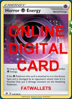 4X Horror Psychic Energy 172/192 Rebel Clash Pokemon TCG Online Digital Card