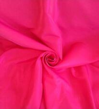 Prestigious Cerise Pink Faux Silk Taffeta Curtain Craft Fabric 17 Roll