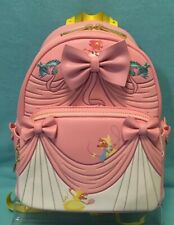 Loungefly Disney Cinderella 70th Anniversary Dress Mini Backpack Pink FAST SHIP