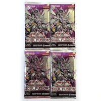 Yugioh 1st Edition Soul Fusion Booster Packs Factory Sealed lot of 4 English