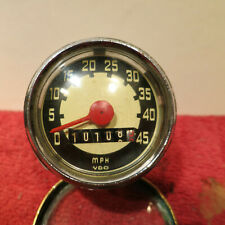 More details for vintage vdo  motorcycle speedo. 1960,s small.