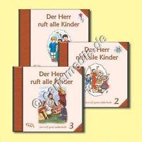 CD-Set: DER HERR RUFT ALLE KINDER - Vol. 1-3 - Drei CDs, 82 Kinderlieder *NEU*
