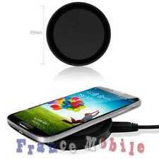Chargeur pour Samsung Galaxy S6 S7 Edge Plus + QI Sans Fil de Recharge Pad Noir