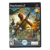 Medal of Honor: Rising Sun Sony PlayStation 2 2003 PS2 Complete