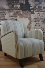 Handmade Striped Armchairs
