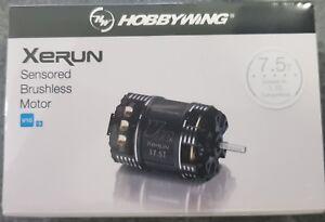 HOBBYWING XERUN  SENSORED V10 G3 BRUSHLESS MODIFIED.RACE MOTOR 7.5T