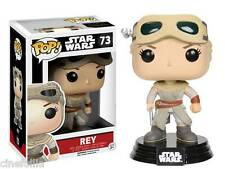 Figura vinile Rey Star Wars VII Pop Funko Vinyl figure bobble-head n° 73