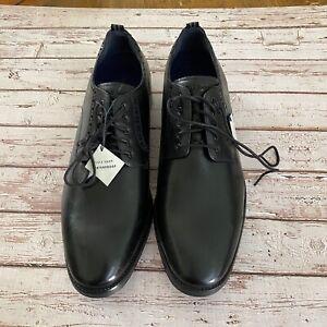 Cole Hann Men Size 11 Jefferson Leather Oxford Grand Waterproof Comfort Innovati