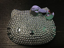 HELLO KITTY X SEPHORA Compact Mirror Bling Silver Limited Edition NEW