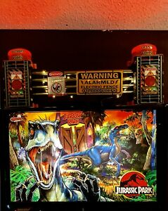 CHOOSE YOUR LE NUMBER Jurassic Park le (2 In 1 Topper) RAPTOR FENCE- JEEP