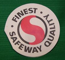 Vintage sewing needle book/ card advertising Safeway
