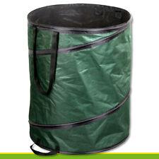 160 l Gartentasche Pop-up Laubsack Blätter Kompost Bioabfall Mähgut
