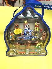 2001 E.T Extra Terrestrial Toys R Us Exclusive Mini Collectables Pvc set #2 Mib