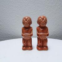 Trader Vics 50s / 60s vintage Hawaiian Tiki ceramic Salt & Pepper Shakers S&P