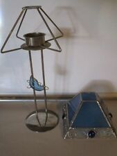 Unbranded Glass Lamp Candle Holders & Accessories