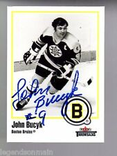 John Bucyk Boston Bruins 2002-03 Fleer Throwbacks Autographed Card