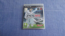 PES 2013 PRO EVOLUTION SOCCER PS3 TOTALMENTE EN CASTELLANO
