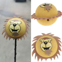 1Pc Cute lion car suv truck antenna pen topper aerial EVA ball decor toy gift