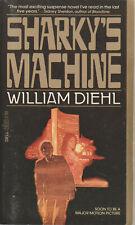 Sharky's Machine William Diehl mass-market paperback good condition