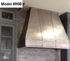 Custom Metal Range Hood Incl. Motor, Cornu Fe Or La Canche Hood - Model #95B
