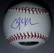 Clayton Kershaw Signed Baseball UDA Upper Deck Authenticated Autographed COA