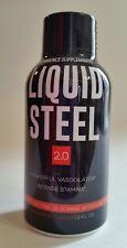 Liquid Steel Male Enhancement 2 Oz liquid Pre-Shot