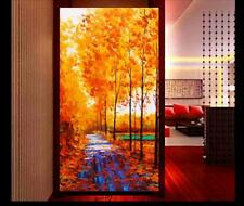 YA#030 Modern art decor Hand-painted Scenery oil painting Tree No Frame 48in