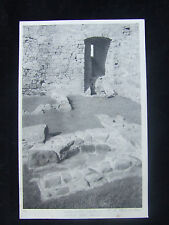 HARLECH CASTLE OVEN & WELL POSTCARD REMBRANDT INTAGLIO PRINTING LONDON H M OFFIC