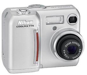 Nikon CoolPix 775 2.1 MP Digital Camera with 3x Optical Zoom CompactFlash Memory
