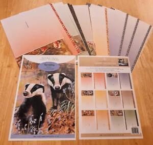 Pollyanna Pickering Chapter V British Wildlife - Insert Collection 36 A4 sheets
