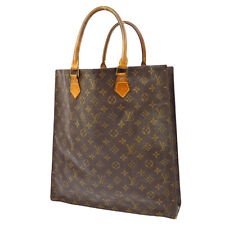 AUTHENTIC LOUIS VUITTON SAC PLAT HAND TOTE BAG PURSE MONOGRAM M51140 VTG A32538