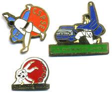 3 pin's SNCF USCF Judo Cheminot