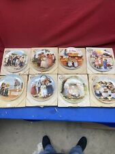 Knowles Collector Plates Jeanne Down's Friends I Remember Series Lot Of 8 Plates