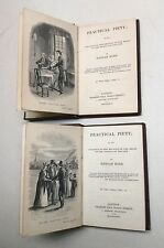 19th Century Antiquarian Books. Practical Piety by Hannah More. 1839.  C. Tilt.