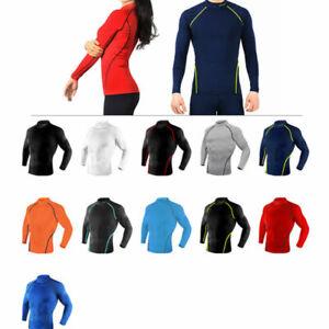 Take Five Mens Skin Tight Compression Base Layer Running Shirt S~2XL NT012
