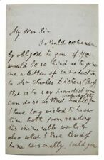 Dickens / AUTOGRAPH LETTER SIGNED  Reform Club Pall Mall  April 4th 1843