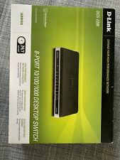 D-Link  DGS (DGS2208) 8-Ports External Switch Managed