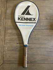 Pro Kennex Silver Ace Tennis Racket with Cover 4 1/4