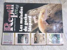 $$ Revue Reptil mag N°44 gecko leopard  gecko panthere  boa des sables  Sardaign