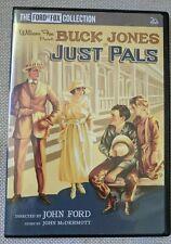 JUST PALS - JOHN FORD-  BUCK JONES 1920 SILENT CLASSIC- RESTORED