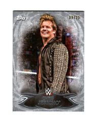 WWE Chris Jericho #35 2015 Topps Undisputed Silver Parallel Base Card SN 9 of 25