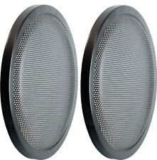 "PAIR 8"" Heavy Duty High Excursion Subwoofer Speaker Classic Grill Grills Cover"